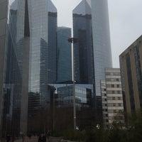 Photo taken at Société Générale Twin Towers by Noémie H. on 12/10/2015