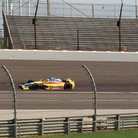 Photo taken at Turn 2 Infield by Kim M. on 5/18/2013