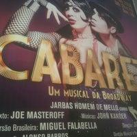 Photo taken at Teatro Procópio Ferreira by Jéssica D. on 2/16/2013