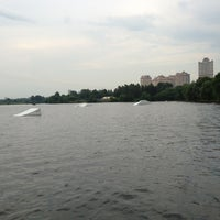 Photo taken at Траектория Wake Park by Maria S. on 6/26/2013