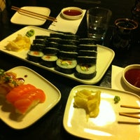 Photo taken at Sushibar + Wine by Valeria H. on 2/25/2013