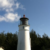 Photo taken at Umpqua Lighthouse State Park by Diana A. on 3/3/2013
