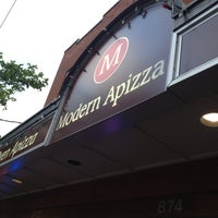 Photo taken at Modern Apizza by Leslie R. on 6/8/2013