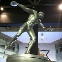 Photo taken at San Diego Hall of Champions Sports Museum by Heather T. on 3/26/2013