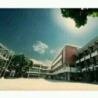 Photo taken at SMA Muhammadiyah 1 Yogyakarta by Ilham A. on 2/9/2013