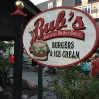 Photo taken at Bub's Burgers & Ice Cream by Joe H. on 8/10/2013