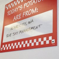 Photo taken at Five Guys by Sheryl C. on 11/25/2012