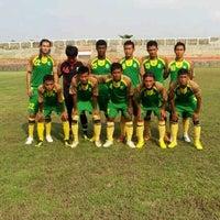 Photo taken at Stadion Kota Batik by Bagus A. on 2/3/2013