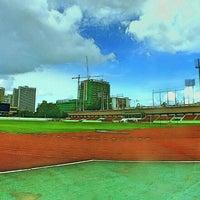 Photo taken at Thephasadin Stadium by Worapot R. on 6/3/2016