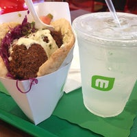 Photo taken at Maoz Vegetarian by Jomary J. on 7/6/2013