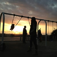 Photo taken at Ocean Park Playground by Ryan S. on 2/11/2013