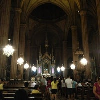 Photo taken at Minor Basilica of San Sebastian (Shrine of Our Lady Of Mount Carmel) by Gabriel D. on 3/29/2013
