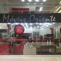 Photo taken at Moveis Oriente Shopping IInterlar by Danilo R. on 1/22/2013