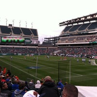 Photo taken at Lincoln Financial Field by Dan D. on 5/25/2013