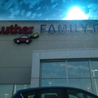 Photo taken at Luther Family Ford by Shawn D. on 5/17/2013