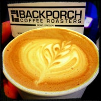 Photo taken at Backporch Coffee Roasters by Ammey K. on 1/26/2013