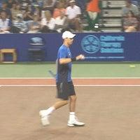 Photo taken at WTT Tennis Tournament by Jenny R. on 7/17/2013