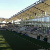 Photo taken at Estadio Bicentenario de La Florida by Savka C. on 2/21/2013