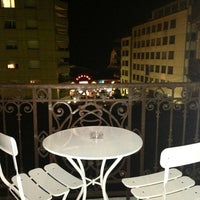 Photo taken at Hôtel Helvetie by Nataly R. on 10/2/2013