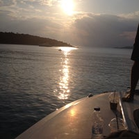 Photo taken at Akrogialia Spetses by Peter P. on 8/8/2014