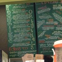 Photo taken at Fozzie's Sandwich Emporium by Anne G. on 1/15/2013