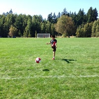 Photo taken at Marymoor Soccer Fields by Peter C. on 9/7/2014