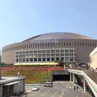 Photo taken at Fukuoka Yahuoku! Dome by Clay L. on 6/3/2013