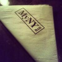 Photo taken at MyNY Bar by Leonardo O. on 4/27/2013