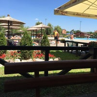 Photo taken at Bazeni UB by Misa Z. on 7/27/2015