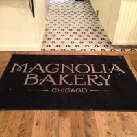 Photo taken at Magnolia Bakery by Priscilla C. on 1/28/2013
