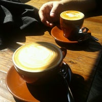 Photo taken at Blue Bottle Coffee by Ana C. H. on 3/29/2013
