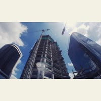 Photo taken at PT Telkom Landmark Tower by lucky p. on 1/17/2015