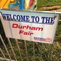 Photo taken at Durham Fair by Mike on 9/28/2012