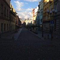 Photo taken at Ostrožná | Pěší zóna by Přemysl B. on 10/13/2013