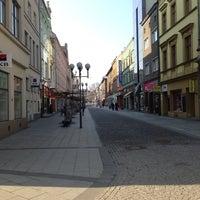 Photo taken at Ostrožná | Pěší zóna by Přemysl B. on 3/30/2014