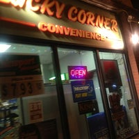 Photo taken at Lucky Corner Convenience by Jason T. on 2/21/2013