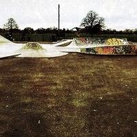 Photo taken at Clapham Skate Park by Dennis 'Lyrique' J. on 1/9/2013