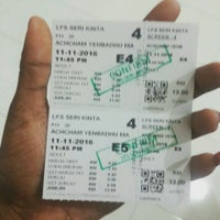 Photo taken at Lotus Five Star Cinemas (LFS) by Angelin.A on 11/11/2016