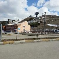 Photo taken at Erzurum Palandöken KYK Yurtları by Murat K. on 3/21/2013