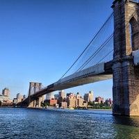 Photo taken at Brooklyn Bridge Park by Stephen on 6/1/2013