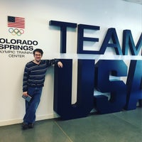 Photo taken at United States Olympic Training Center by David H. on 4/4/2016
