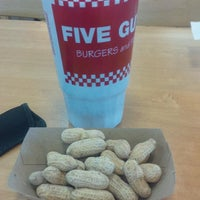 Photo taken at Five Guys by Darcy B. on 3/7/2016