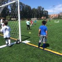 Photo taken at UCLA Intramural Field by Elliott L. on 6/17/2015