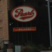Photo taken at Pearl Brewery by Jennifer D. on 2/10/2013