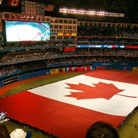 Photo taken at Rogers Centre by James S. on 4/2/2013