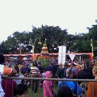 Photo taken at Alun - Alun Kota Magelang by Lia P. on 4/14/2013