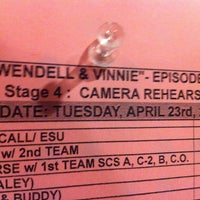 Photo taken at Warner Bros Stage 4 by Chuck W. on 4/23/2013