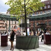 Photo taken at Place de l'Homme de Fer by Ivo B. on 7/31/2012
