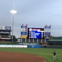 Photo taken at Dell Diamond by Matt L. on 4/23/2013