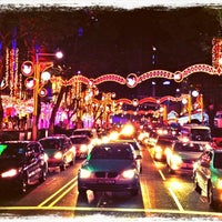 Photo taken at Orchard Road by Christian on 12/23/2012